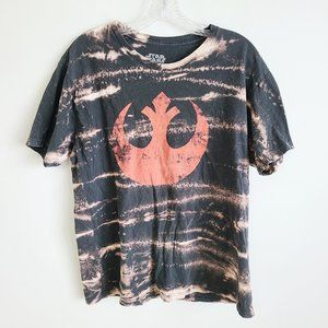 Star Wars rebel tie dye tee